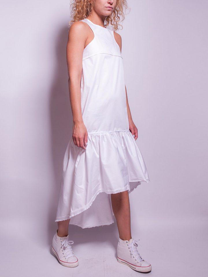 Frill Hem Dress